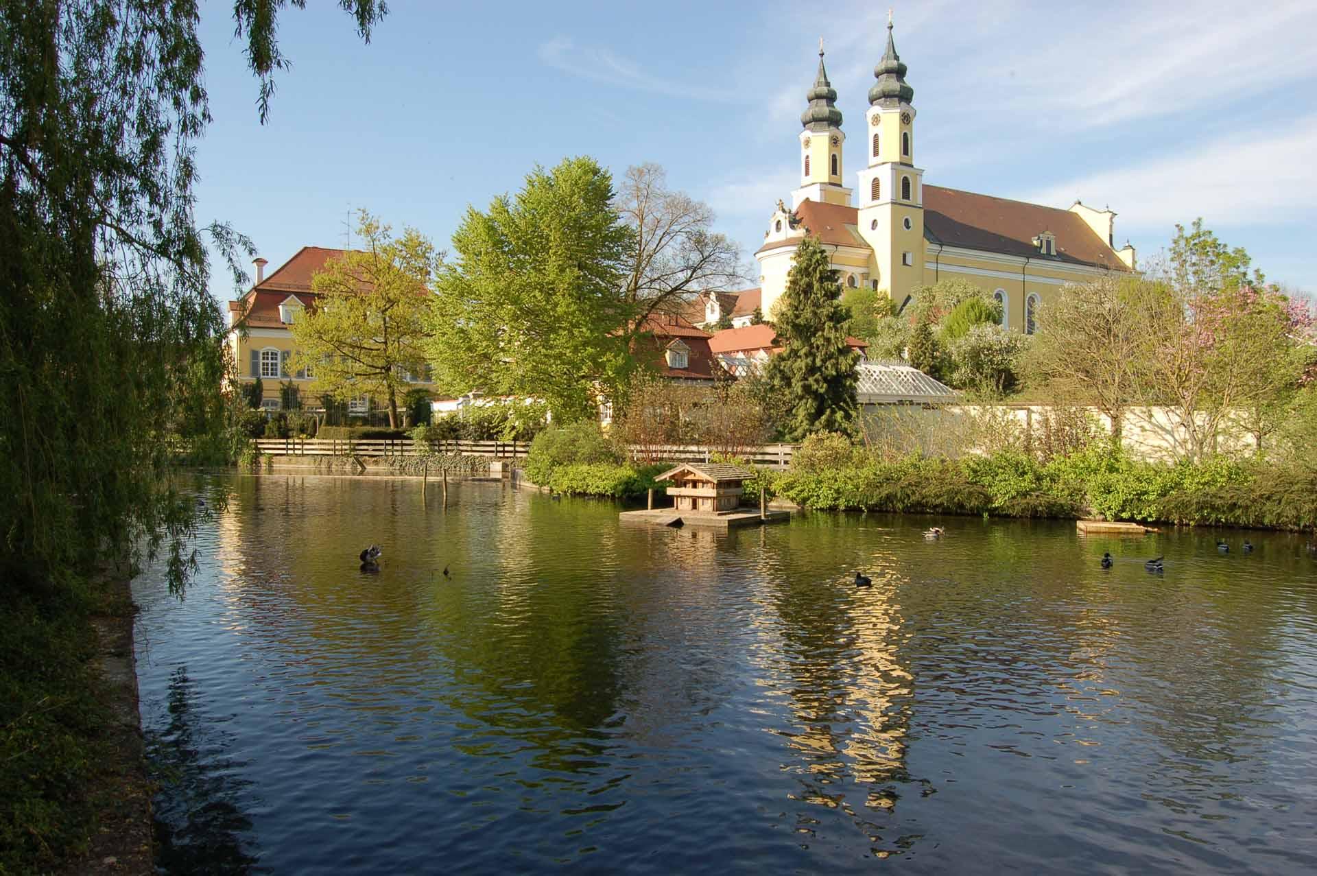 Aussicht auf das Kloster