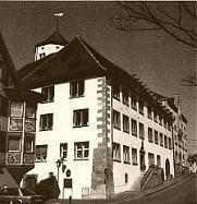 Alte Aufnahme des Ritterschaftshauses
