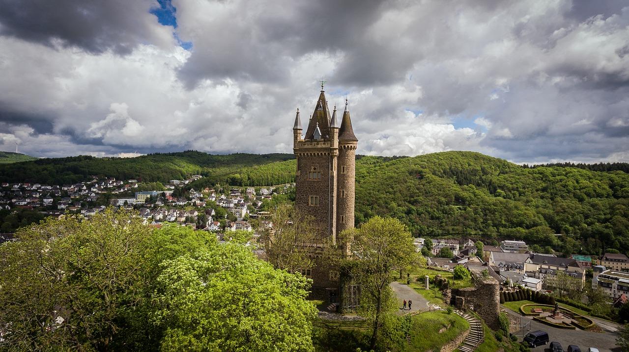 Dillenburg in der Lahn-Dill-Bergland Region