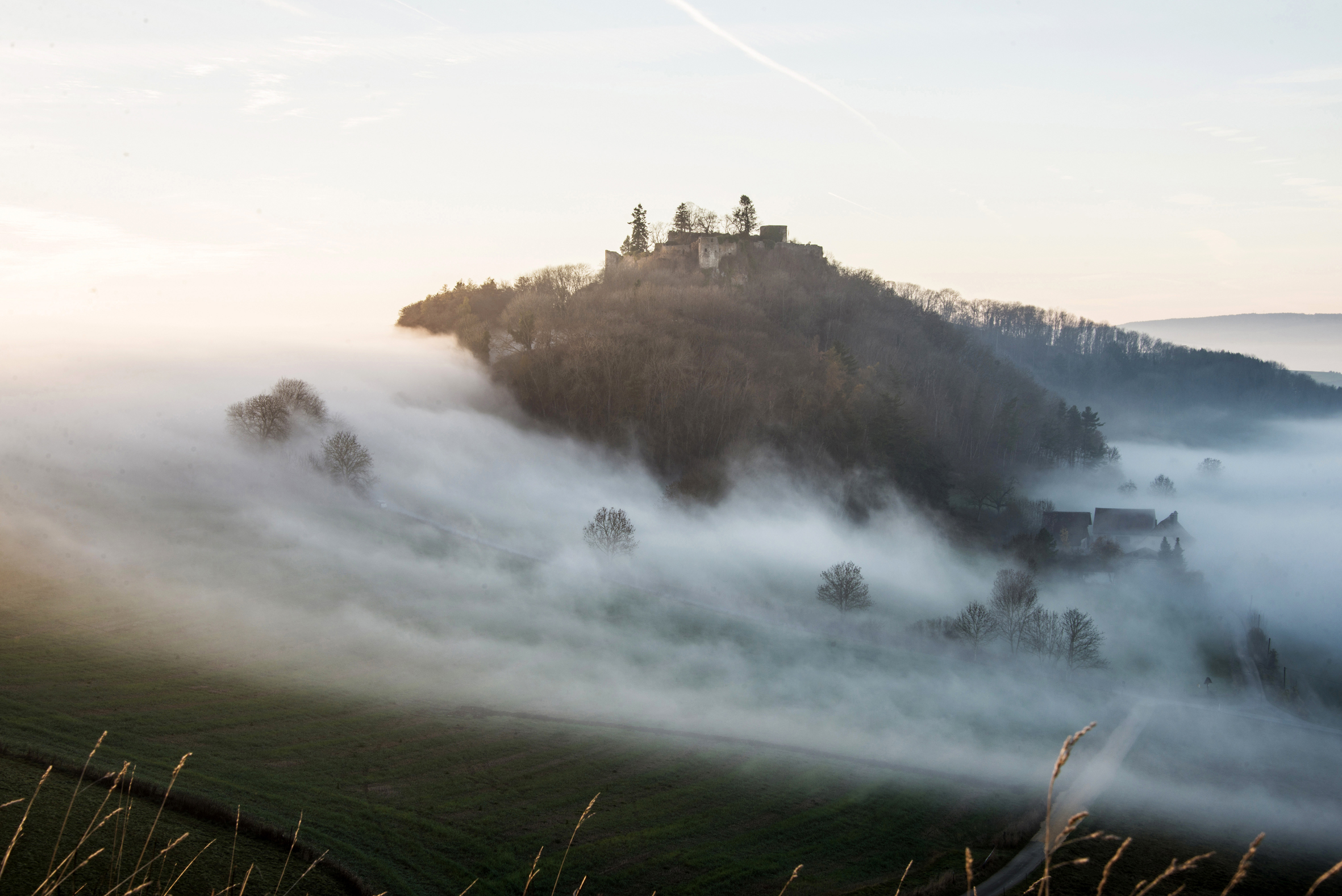 Nebel am Mägdeberg-