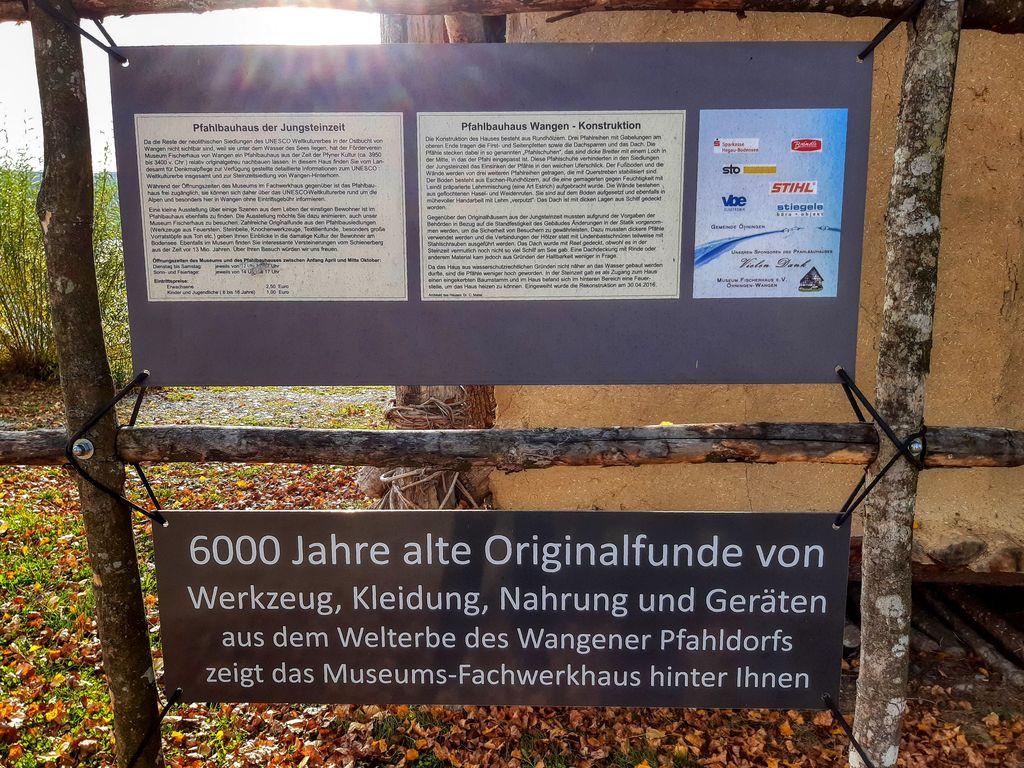 Pfahlbauhaus beim Museum Fischerhaus Wangen
