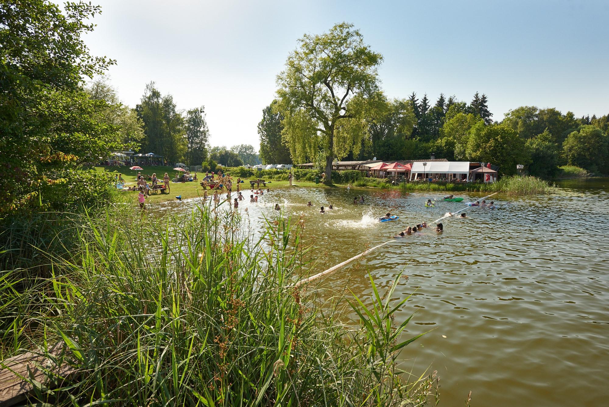 Seebad am Böhringer See