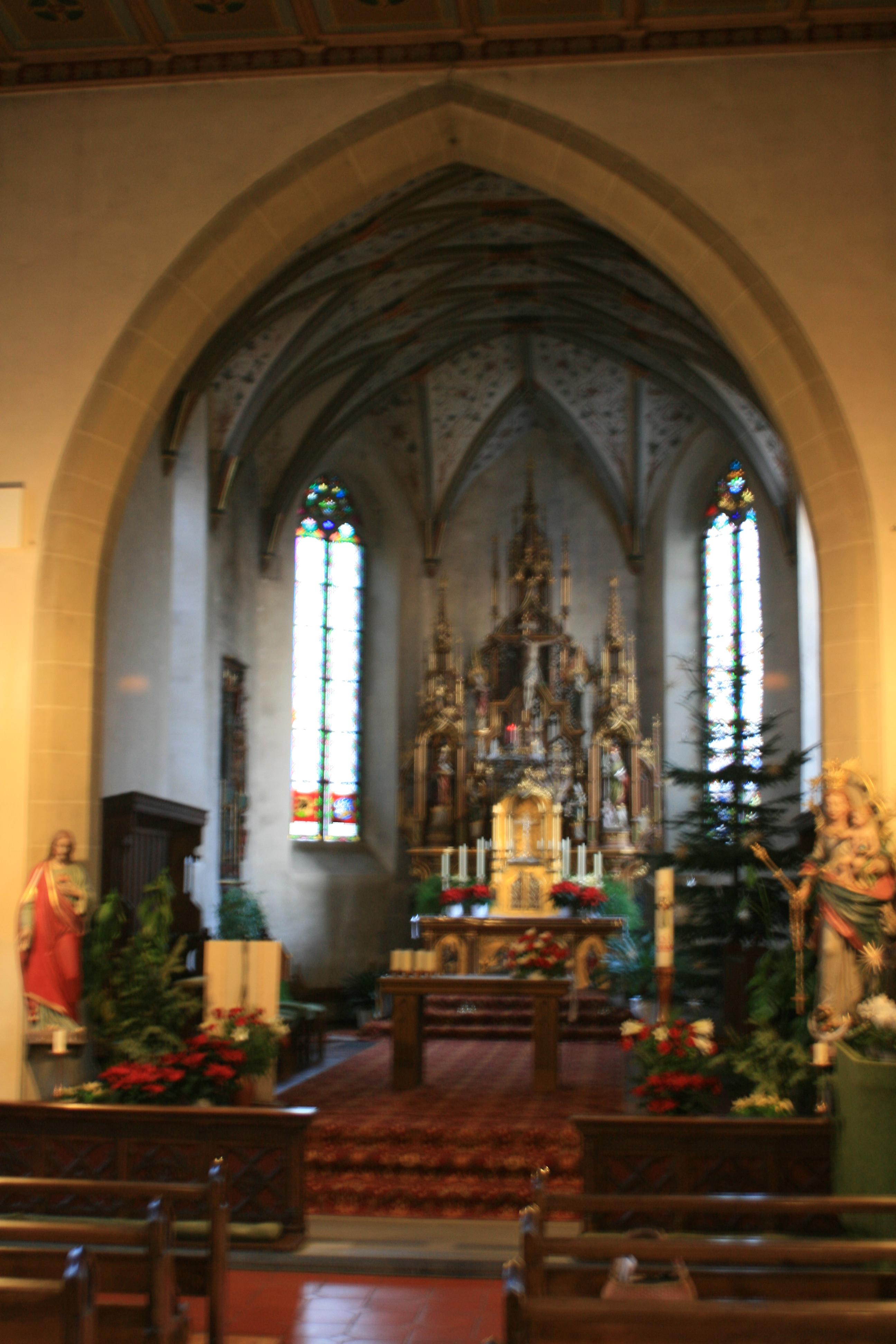 Innenraum der Remigiuskirche