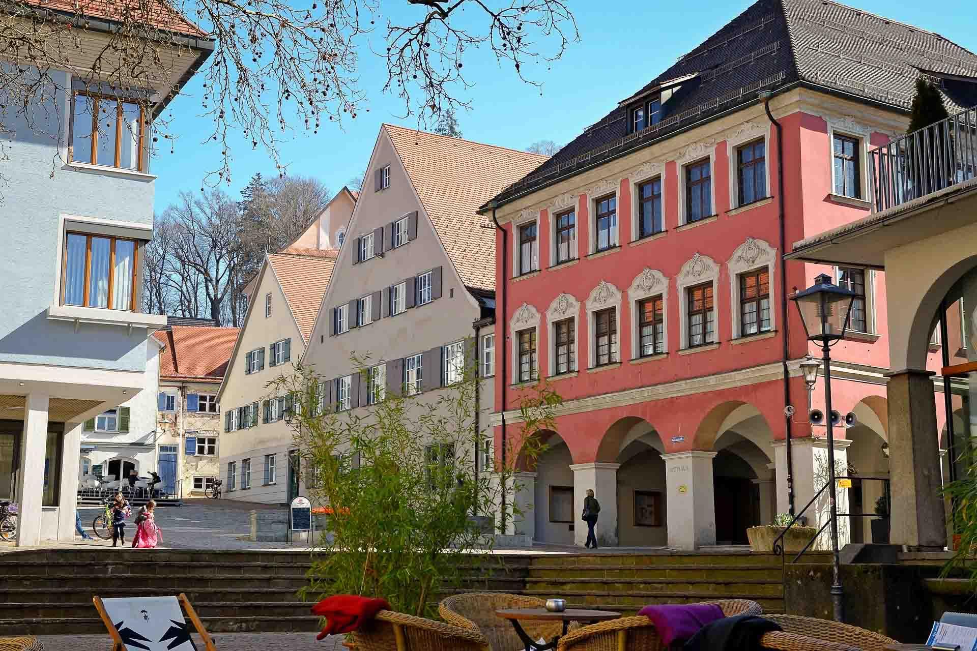 Innenstadt in Leutkirch