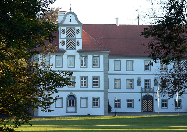 Außenansicht Neues Schloss Kißlegg