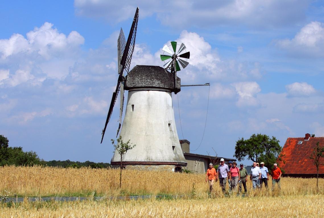Mühle am Mühlenweg am Wiehengebirge