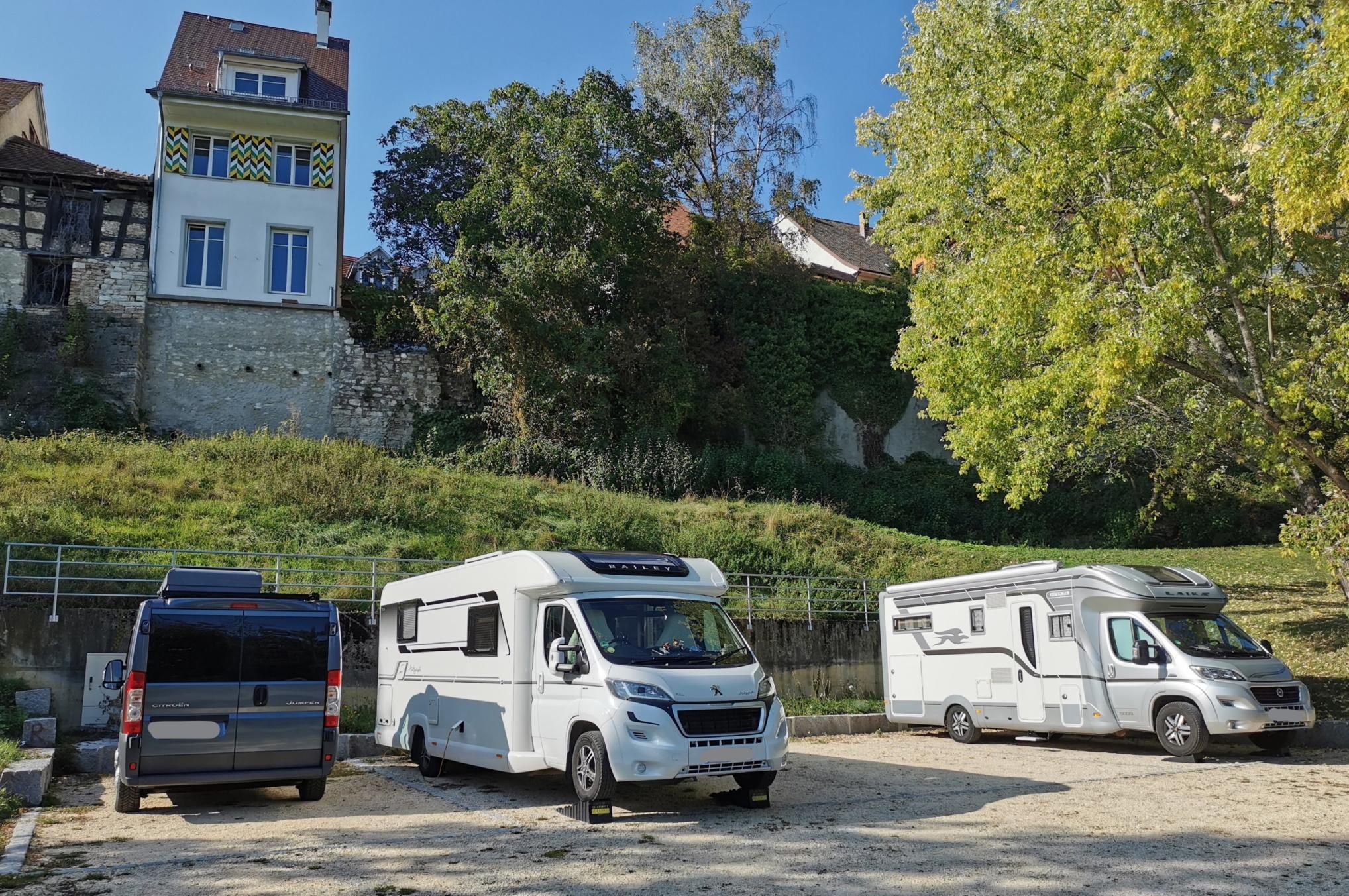 Wohnmobilstellplatz am Felsenparkplatz