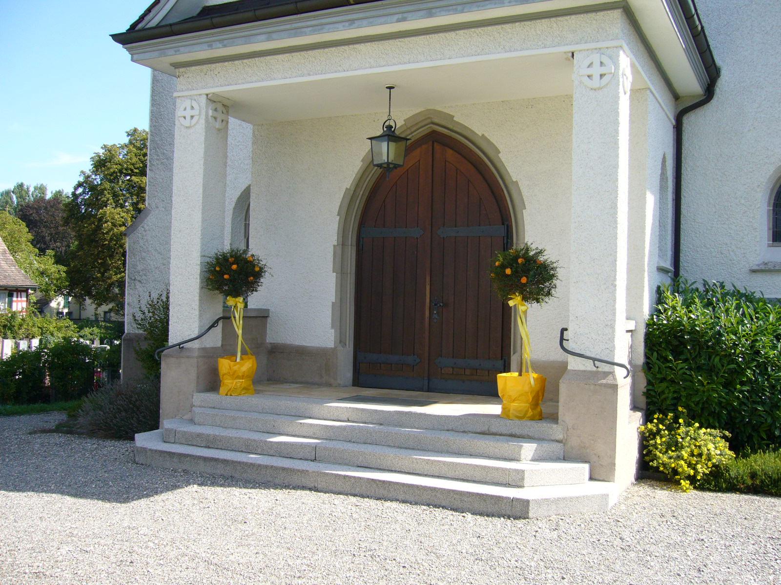 Eingang St. Blasius