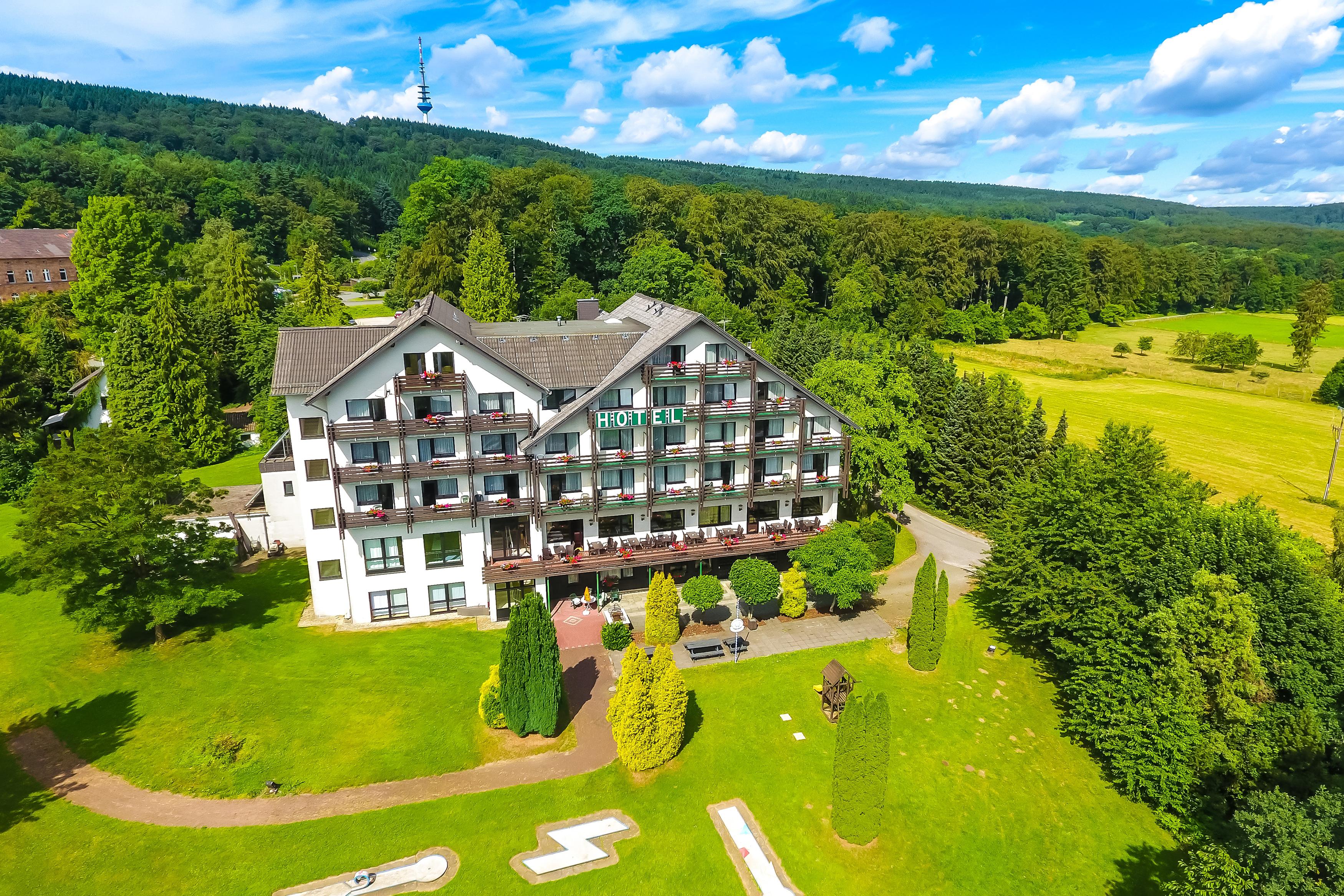 Hotel Der Jaegerhof Luftaufnahme