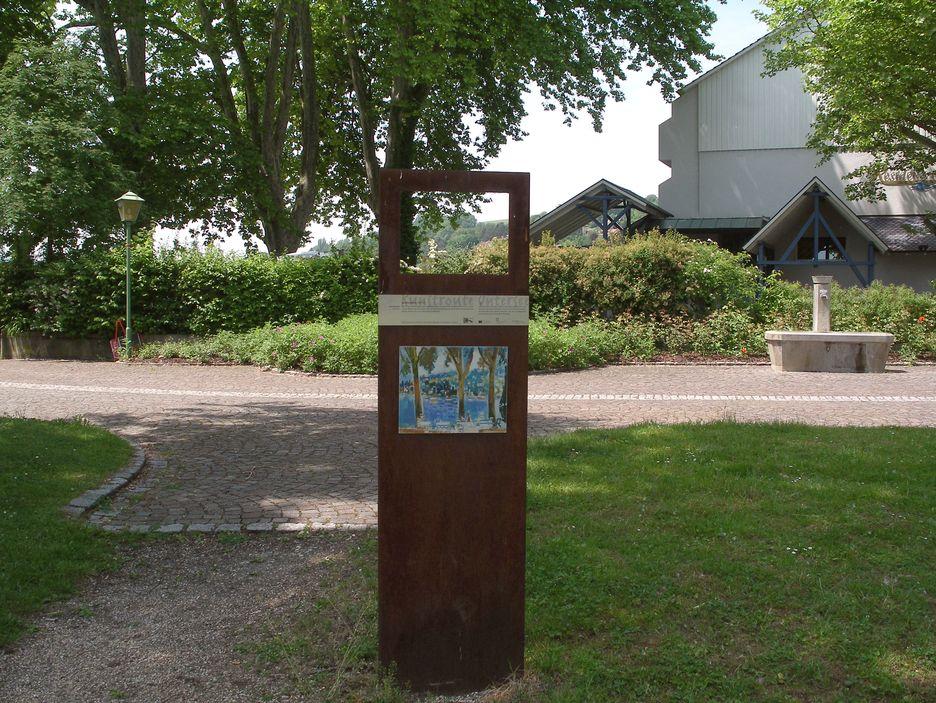 Kunstroute / Stele in Wangen