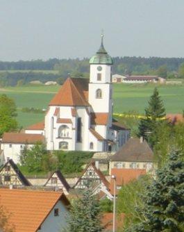 St. Nikolaus Kirche in Scheer
