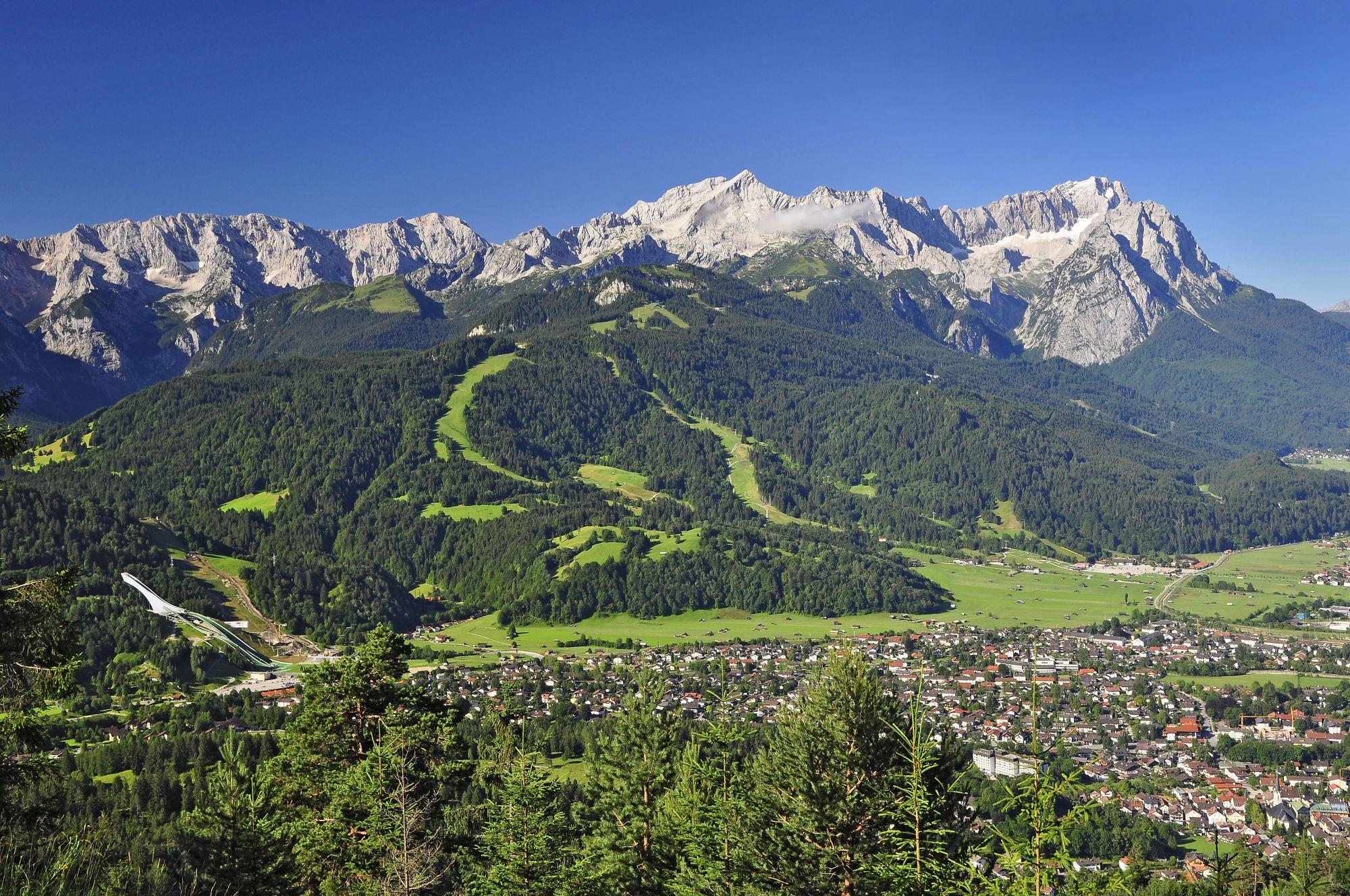 Garmisch Partenkirchen und Wetterstein