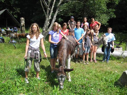 """Jugendwanderweg """"Mit Esel durch den Schwarzwald"""""""