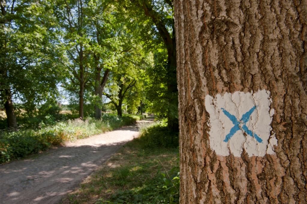 Märkischer Landweg Markierungszeichen