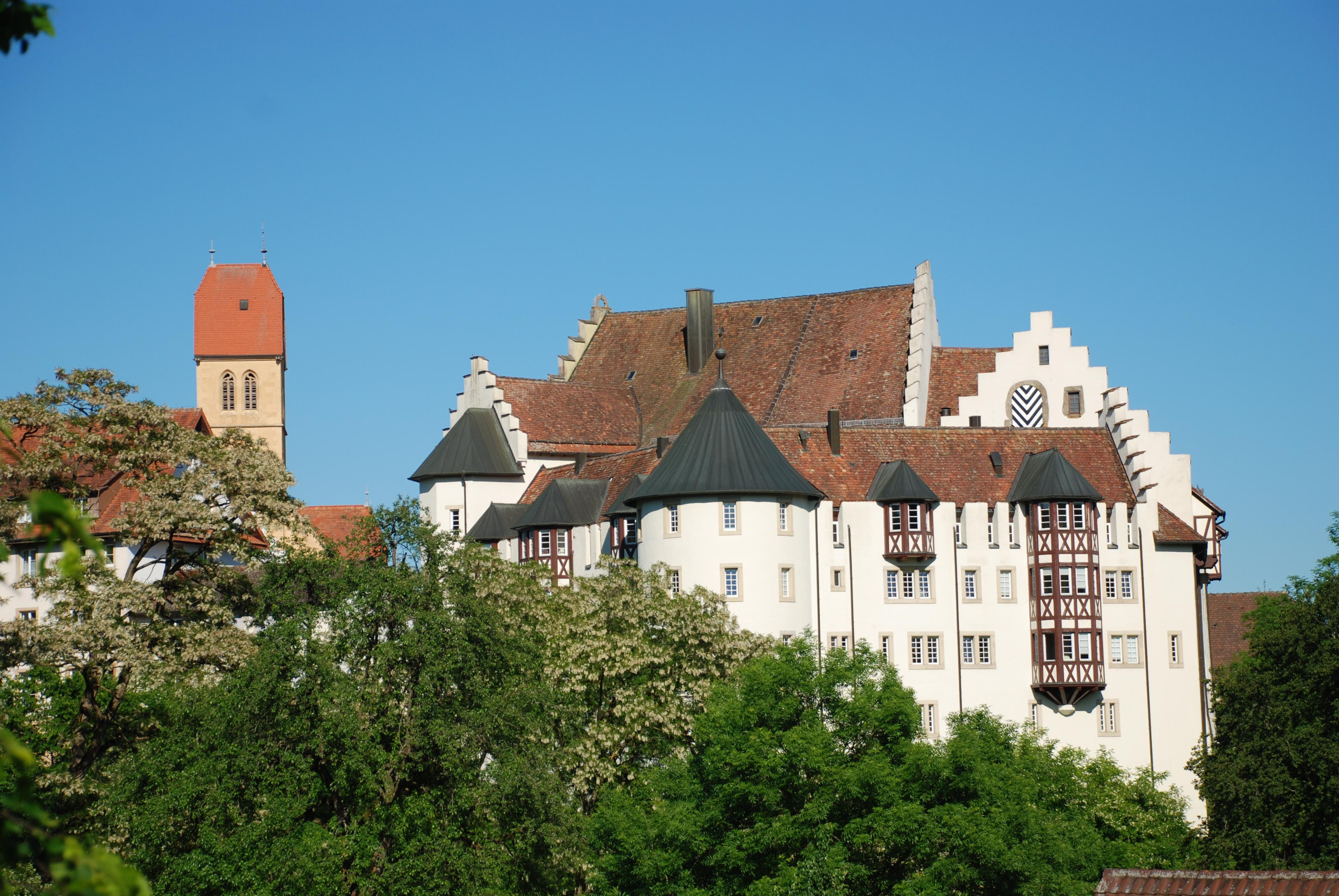 Schloss Blumenfeld Frühling