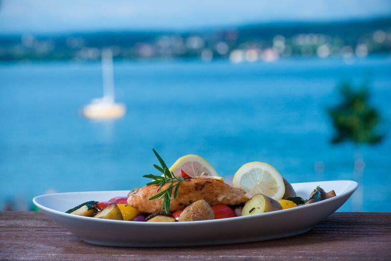 Sommerlicher Fischgenuss im Café Restaurant Hörnle