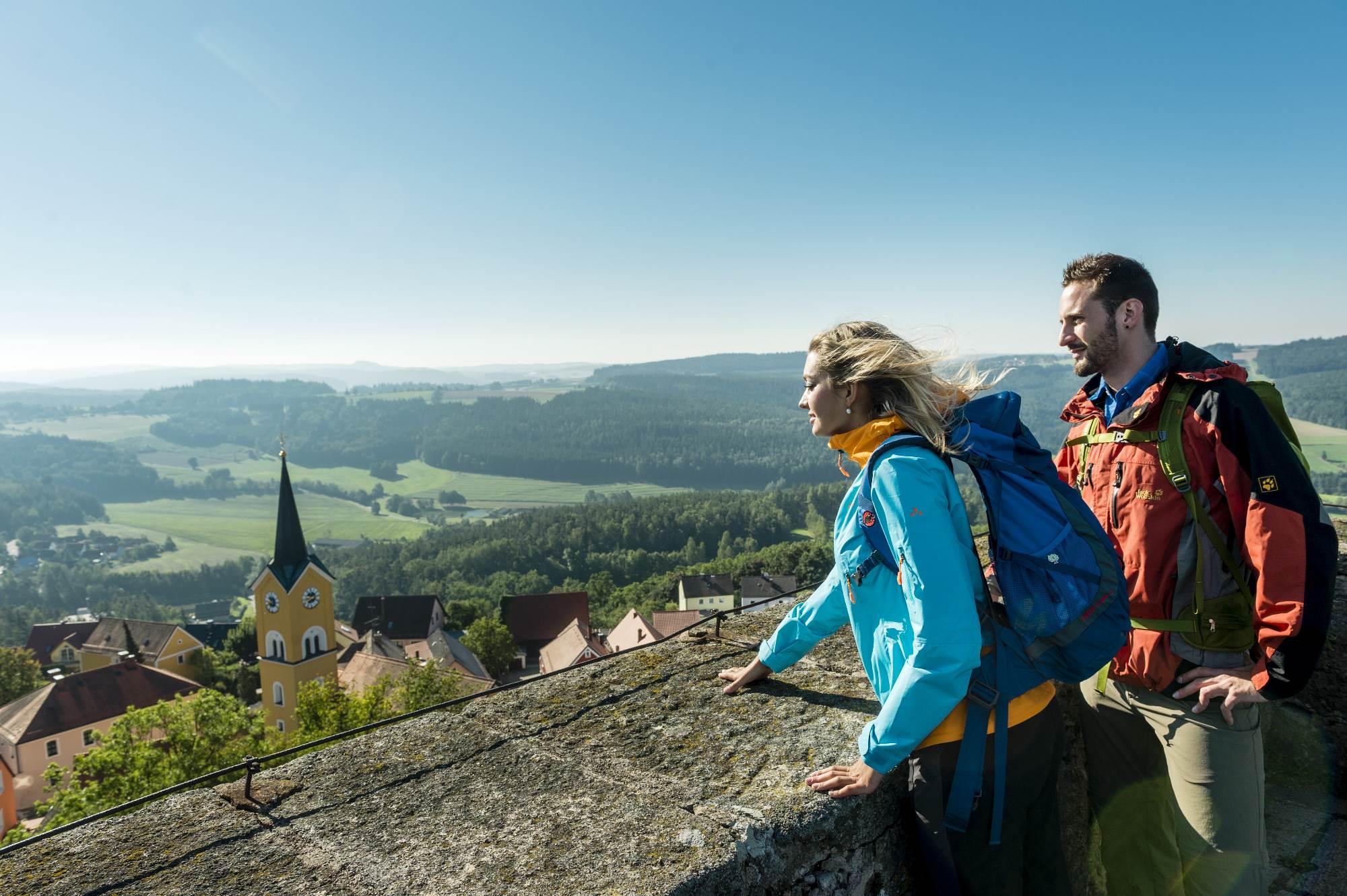 Ausblick Burg Leuchtenberg