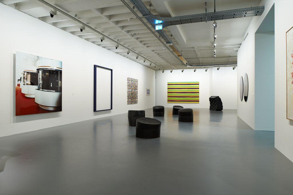 Kunstmuseum Singen_Ausstellungsansicht Obergeschoss_001