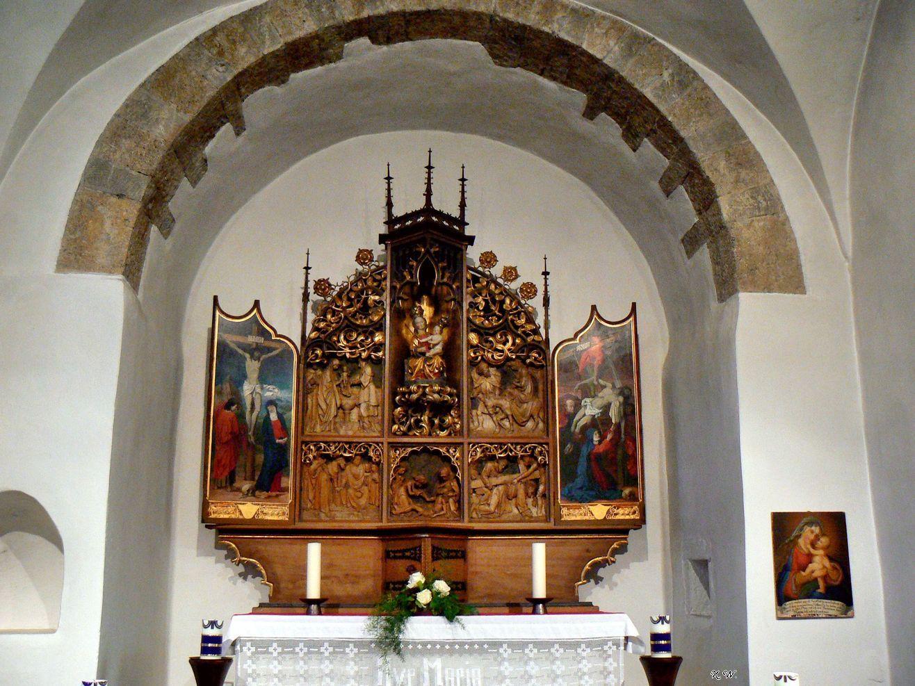 Wallfahrtskirche Schienen - Altar