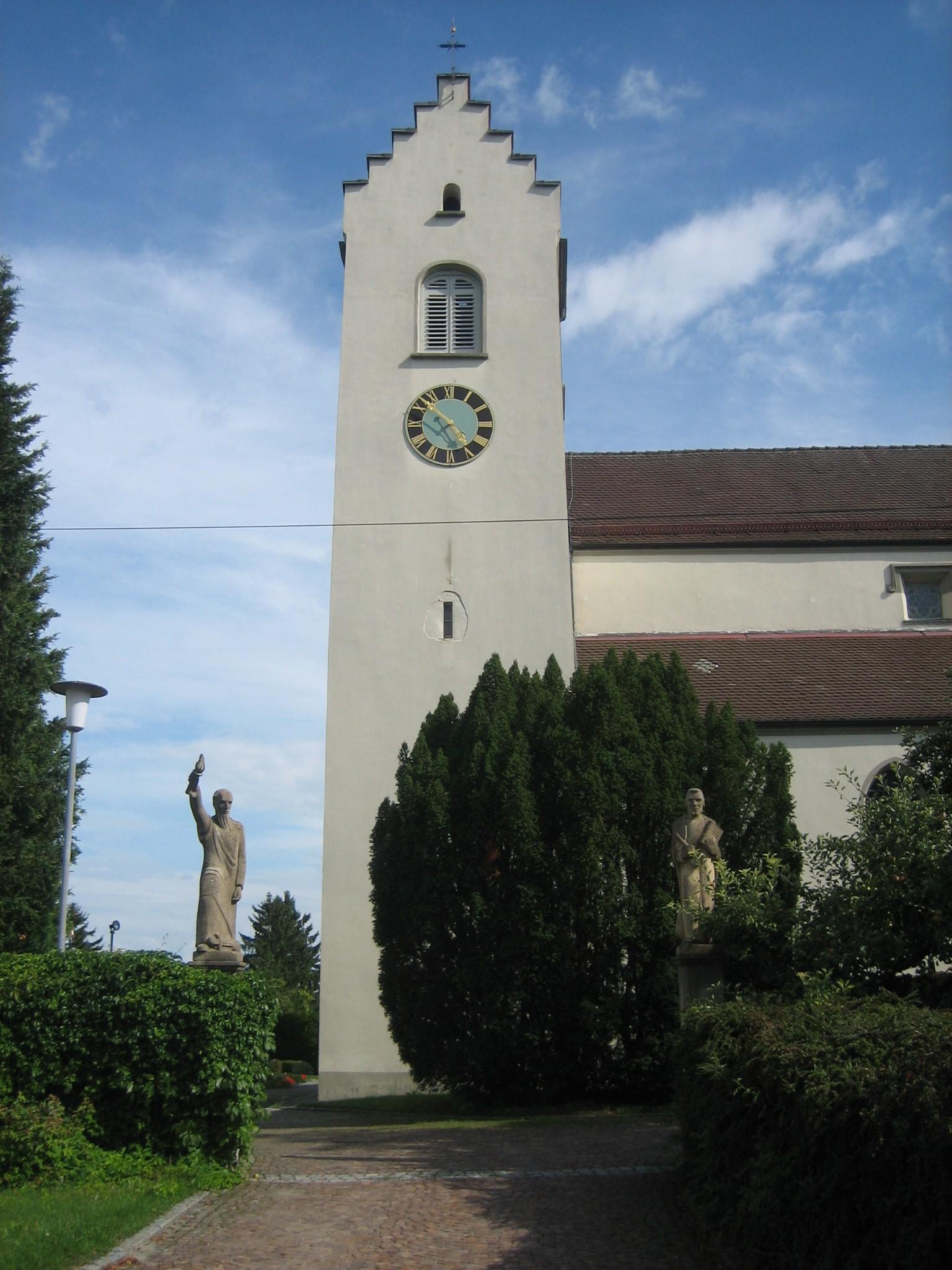 Mühlhausen Pfarrkirche St Peter und Paul