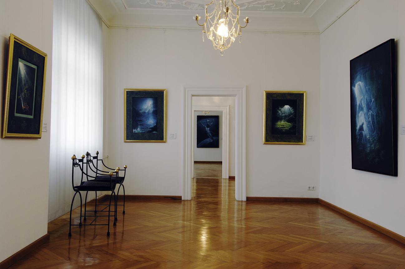 Isny Ausstellungsraum Kunsthalle im Schloss