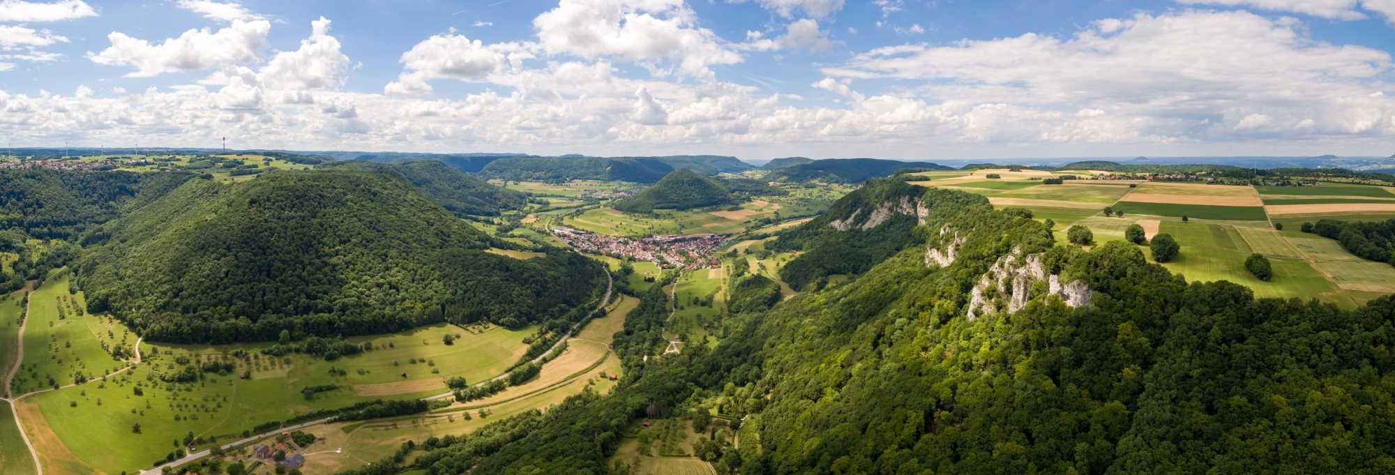 Panoramablick Löwenpfad Felsenrunde