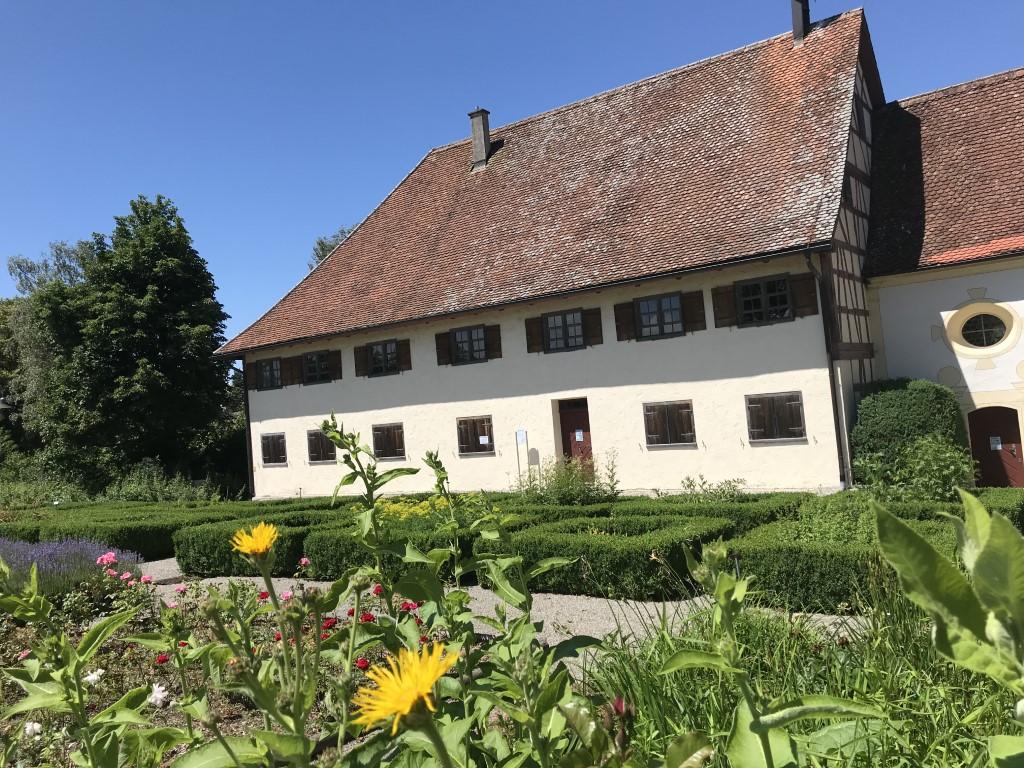 Blick auf Bad Wurzachs ältestes Gebäude